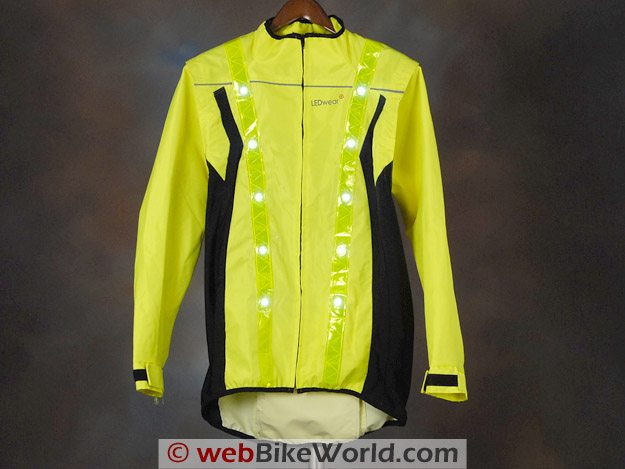 LEDwear LED Safety Jacket - Front View