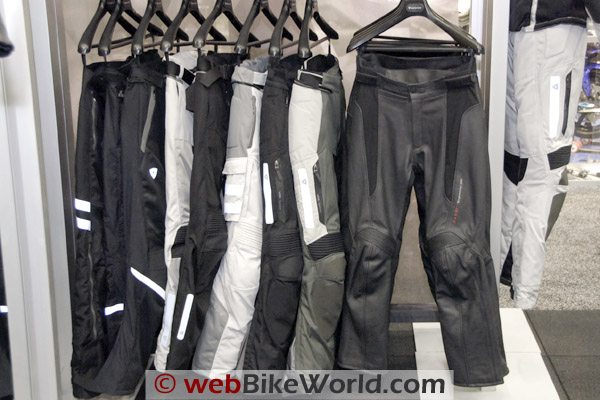 Selection of Rev'it Pants for 2009.