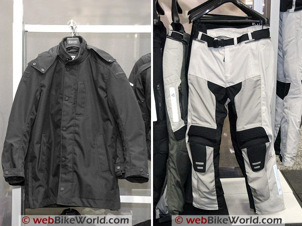 Rev'it Manhattan Jacket (L) and Turbine Pants (R)