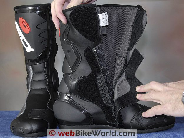 Sidi B2 Boots - Liner and Zipper