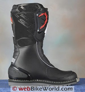Sidi Discovery Rain Boots - Inside View