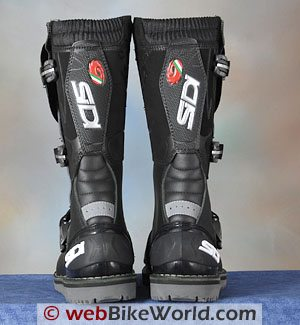 Sidi Discovery Rain Boots - Rear View