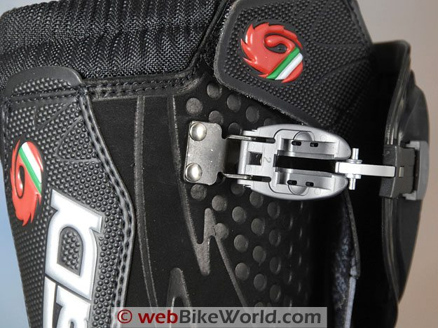 Sidi Discovery Rain Boots - Close-up of Cam Lock Buckle