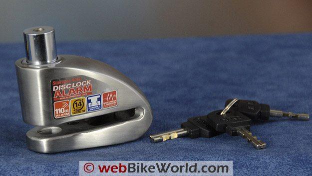 Xena XX14 Disc Alarm With Keys