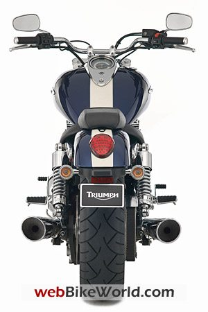 2010 Triumph Thunderbird - Rear