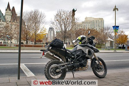 BMW F800GS Review - In the City