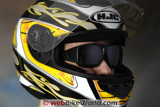 Fitovers Motorcycle Sunglasses - Under Full-Face Helmet