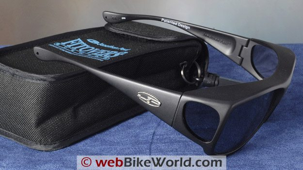 Fitovers Motorcycle Sunglasses - Side View