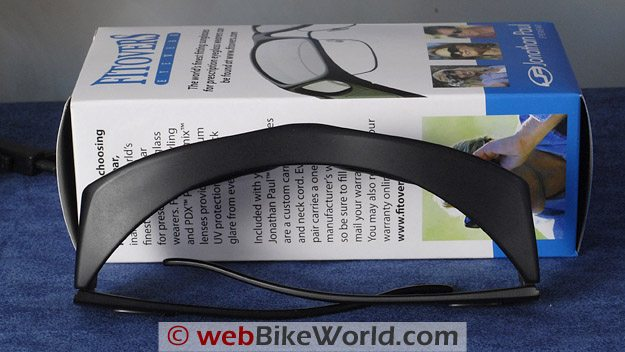 Fitovers Motorcycle Sunglasses - Top View