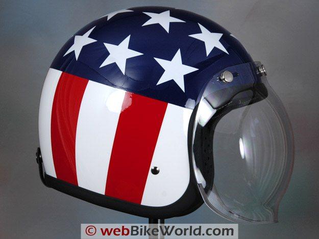 Fulmer V2 Helmet - Bubble Visor
