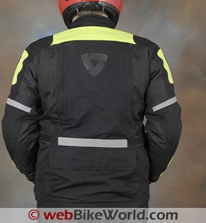 Rev'it Dragon Jacket - Rear View