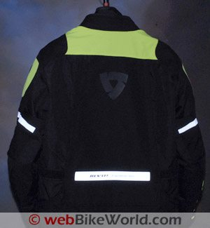 Rev'it Dragon Jacket - Reflective Material