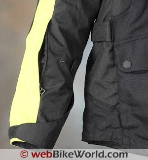 Rev'it Dragon Jacket - Sleeve Vents