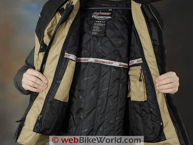 Tourmaster Transition Series 2 Jacket - Insulating Liner