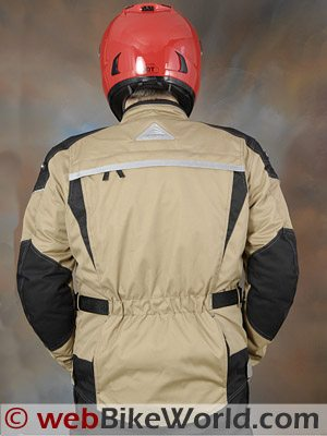 Tourmaster Transition Series 2 Jacket - Rear View