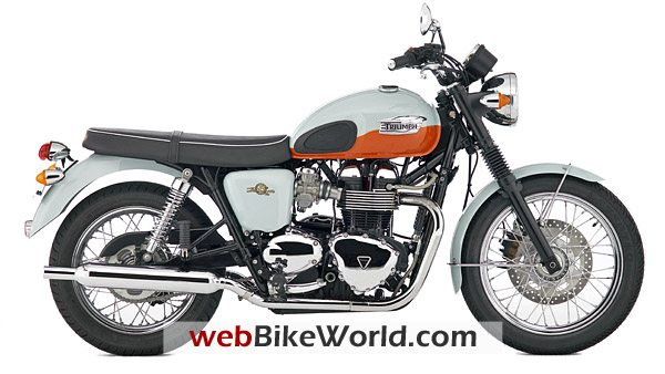 50th Anniversary Edition Bonneville