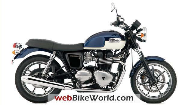 Triumph Bonneville SE - Right Side