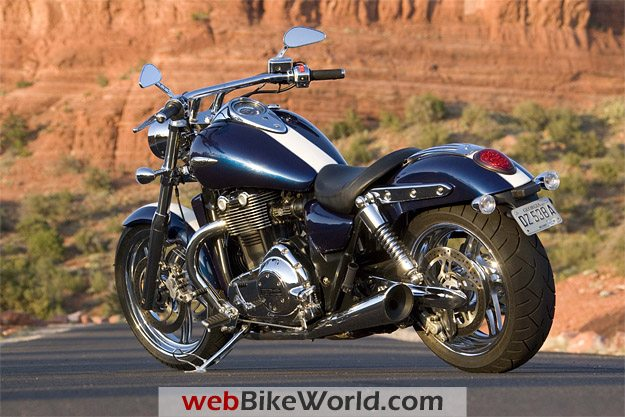 2010 Triumph Thunderbird - webBikeWorld