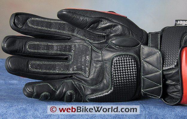 Veloce Legionnaire Gloves - Updated Version, Palm