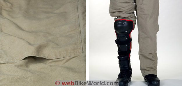 Carhartt Jeans With Motorcycle Knee Protection