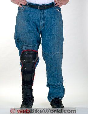 Cortech DSX Jeans Knee Pad