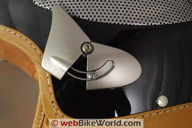 Cromwell Spitfire Helmet - Visor Rotating Mechanism