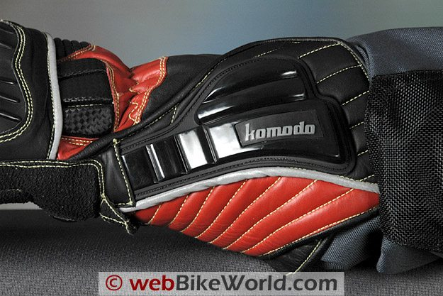 Komodo K-FX Race Gloves Wrist Gauntlet