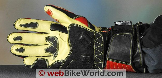 Komodo K-FX Race Gloves - Palm View