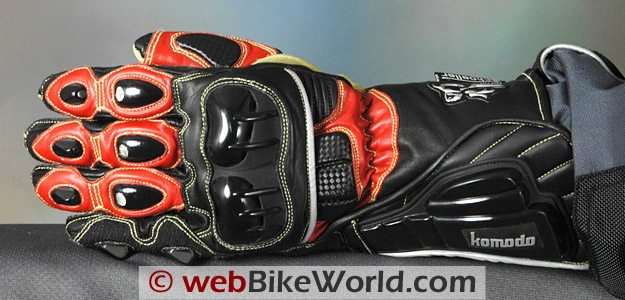 Komodo K-FX Race Gloves - Top View