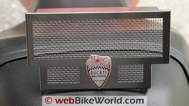 The CustomDucati SportClassic Radiator Guard.