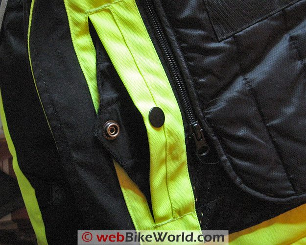 Tourmaster Epic Jacket - Built-in Kidney Belt