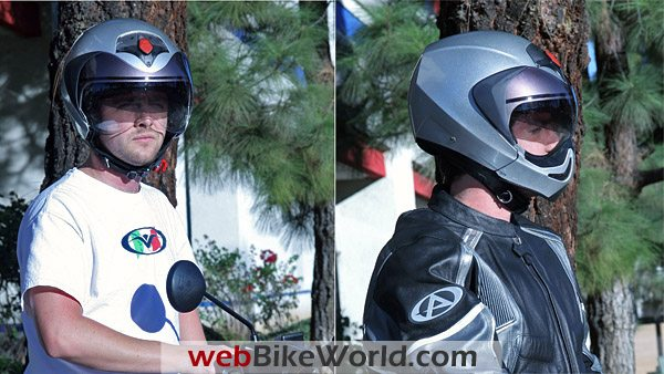 Vemar CKQI Bluetooth Helmet on Motorcycle Riders