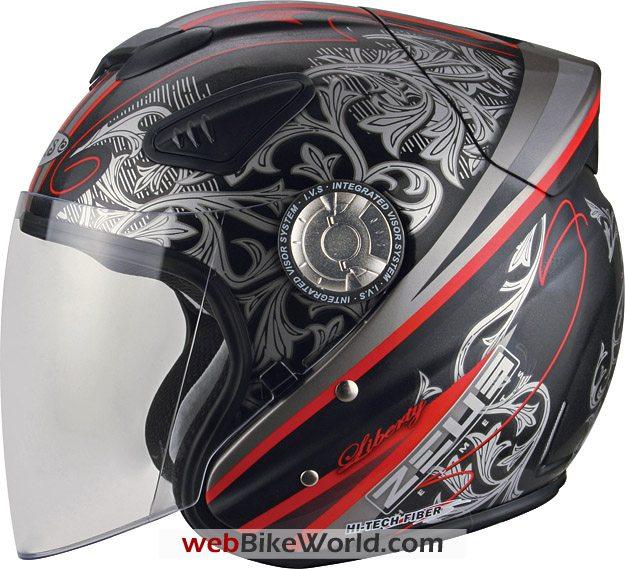 "Zeus ZS-608 ""Jet"" styled helmet"