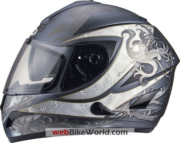 Zeus ZS-806 Full-Face Helmet