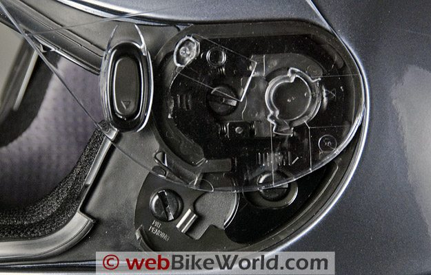 HJC IS-16 - Face shield rotating mechanism