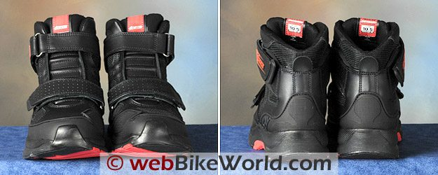 Icon Tarmac Boots - Front and Rear Views
