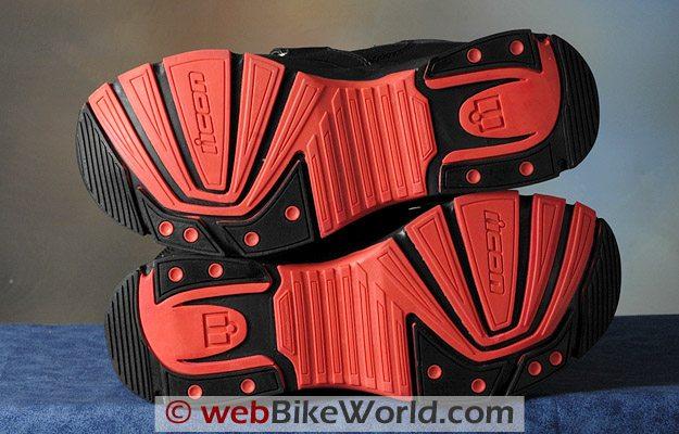 Icon Tarmac Boots - Soles