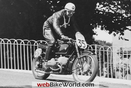 Jock West at the Tourist Trophy, 1939