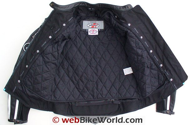 Joe Rocket Jet Set Jacket Insulating Liner