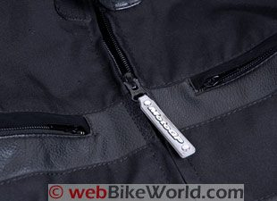 MotoGP Grid Jacket - Main Zipper
