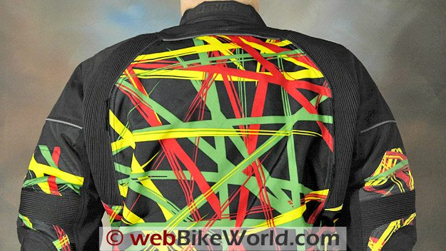 Shift Avenger Jacket - Rear View