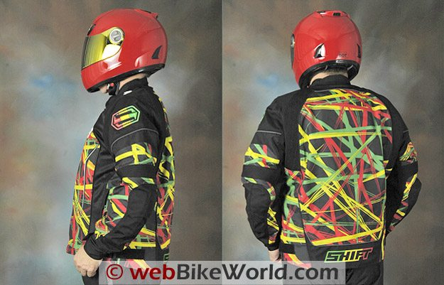 Shift Avenger Jacket - Rider Views