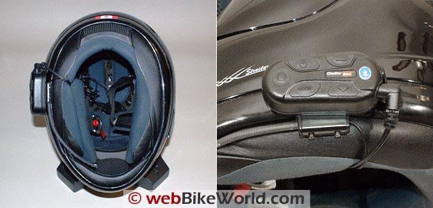 Chatterbox XBi - Helmet Mounting