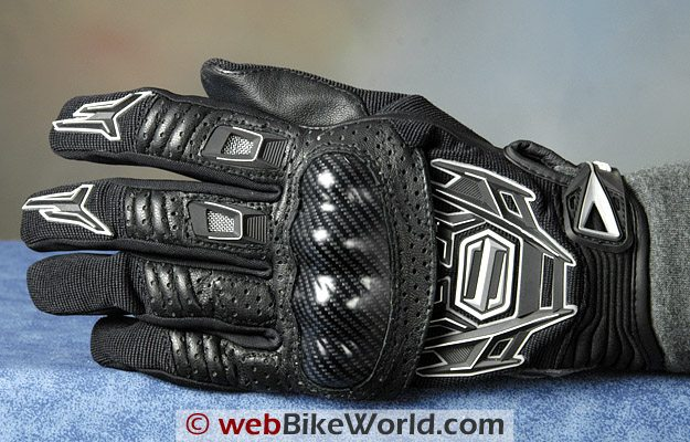 Shift Fury Gloves Top