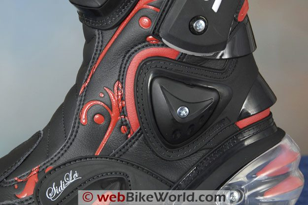 Sidi Vertigo Lei Boots - Replaceable Ankle Protector