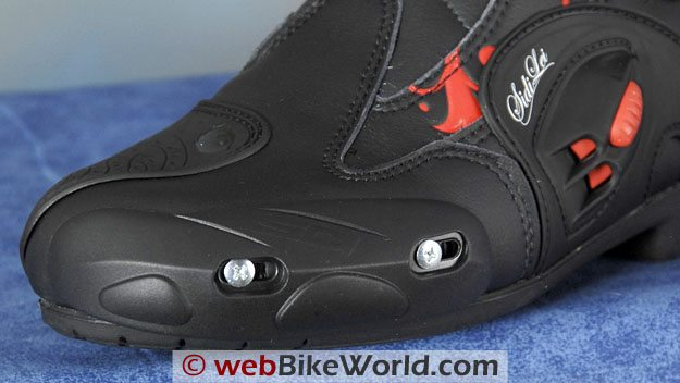 Sidi Vertigo Lei Boots - Replaceable Toe Slider