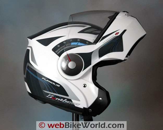 Zeus ZS-3000 Snell Approved Flip-up Motorcycle Helmet