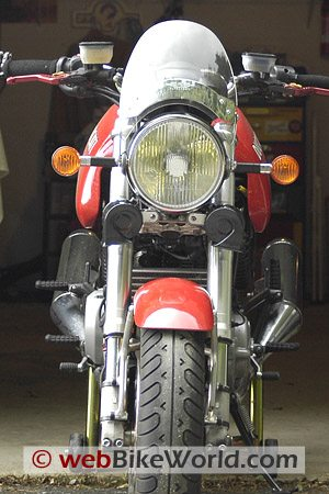 Fiamm Freeway Blaster Horns on GT1000