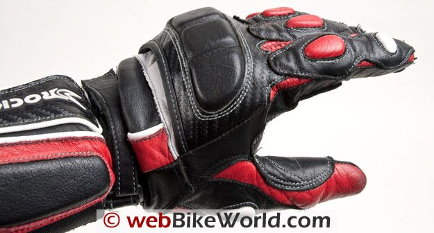 Joe Rocket Highside Gloves - Armor and padding