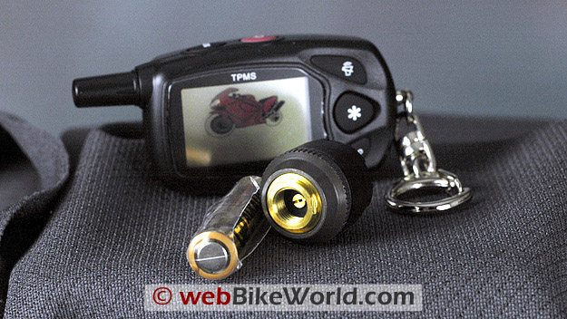 TireGard TPMS Wireless Tire Pressure Monitoring System - Parts